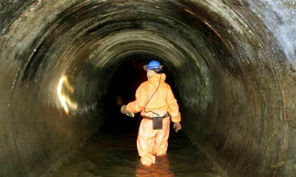 UTSLIPP: Utskiftning av rør er trolig årsaken til bakteriefunn i Kautokeinos drikkevann. Illustrasjonsfoto: Scanpix