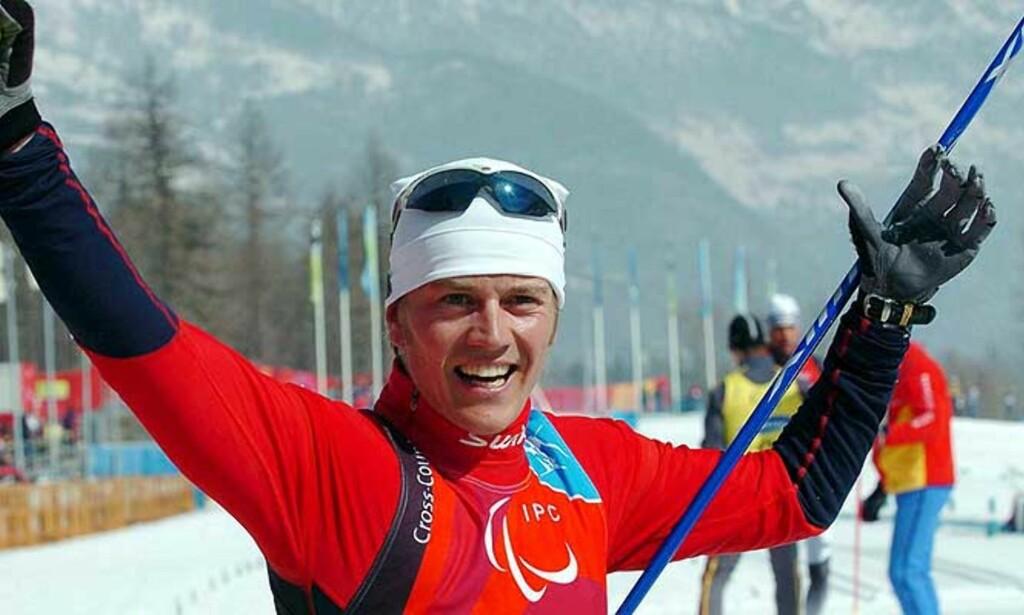 ANKERMANN: Andreas Hustveit sikret gullet på oppløpet. Foto: EPA/Scanpix