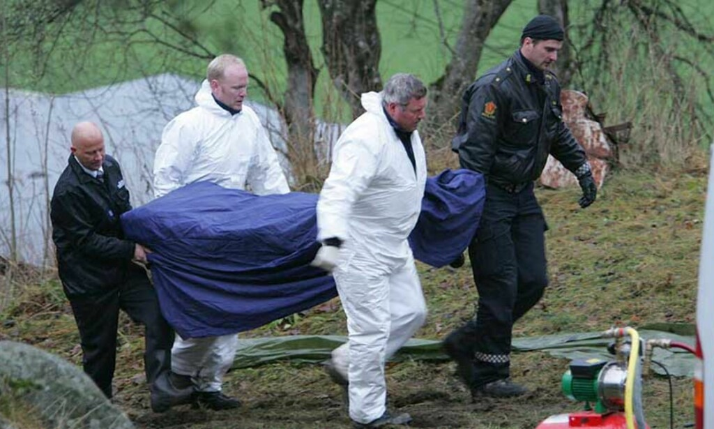 SKJULT: Her gravde ektemannen ned liket av kona, Anne Sofie Blom-Pettersen, sammen med drapsvåpenet.