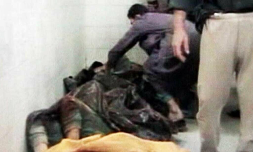 KALDBLODIG MORD? Amerikanske soldater beskyldes for å ha gått inn i hjemme til to familier og skutt 15 menn, kvinner og barn - uten at noen av dem var bevæpnet. Foto: SCANPIX/REUTERS
