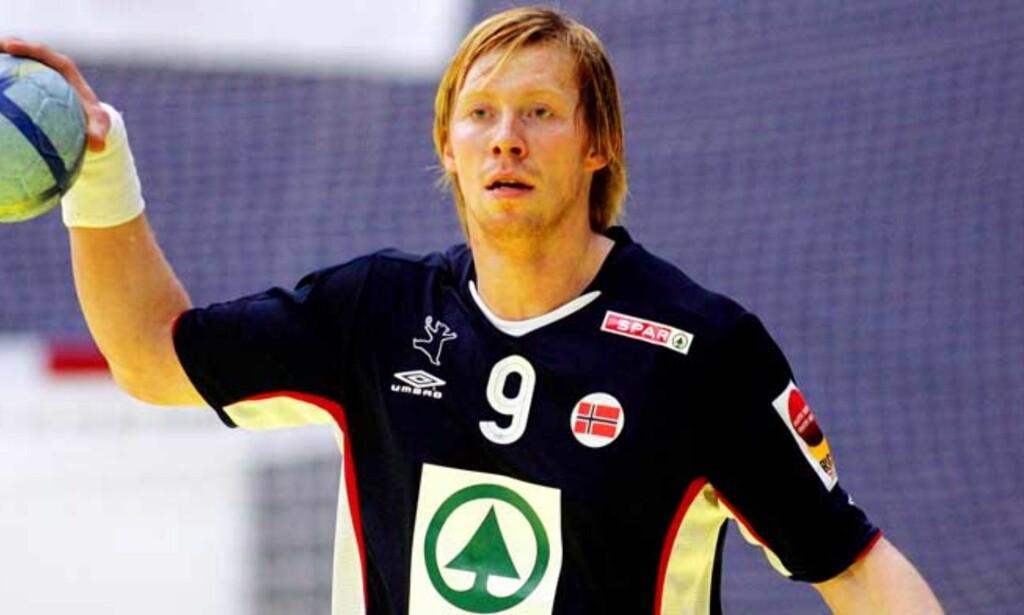 FLYTTER TIL TYSKLAND: Børge Lund kommer til å forlate Aalborg, og blir Bundesliga-spiller. Foto: SCANPIX