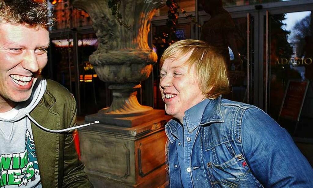 MEST POPULÆR: Kurt Nilsens «Never Easy» toppet radiolista Hit 40 i fjor. Manager Jan Fredrik Karlsen (t.v.) ønsker ikke å si hvor mye Nilsen fikk fra TONO i fjor, men sier det var et «betydelig beløp». Foto: GORM K. GAARE
