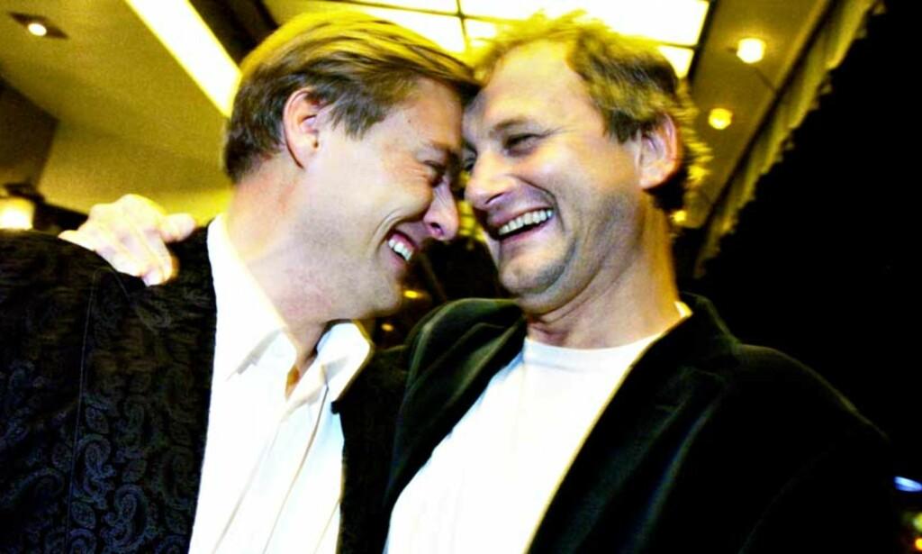 EKSPORTERT: «Skaperen» er solgt til Tyskland - om Idar Vollvik og Frithjof Wilborn følger med på flyttelasset er uvisst, men tvilsomt. FOTO: TRULS BREKKE