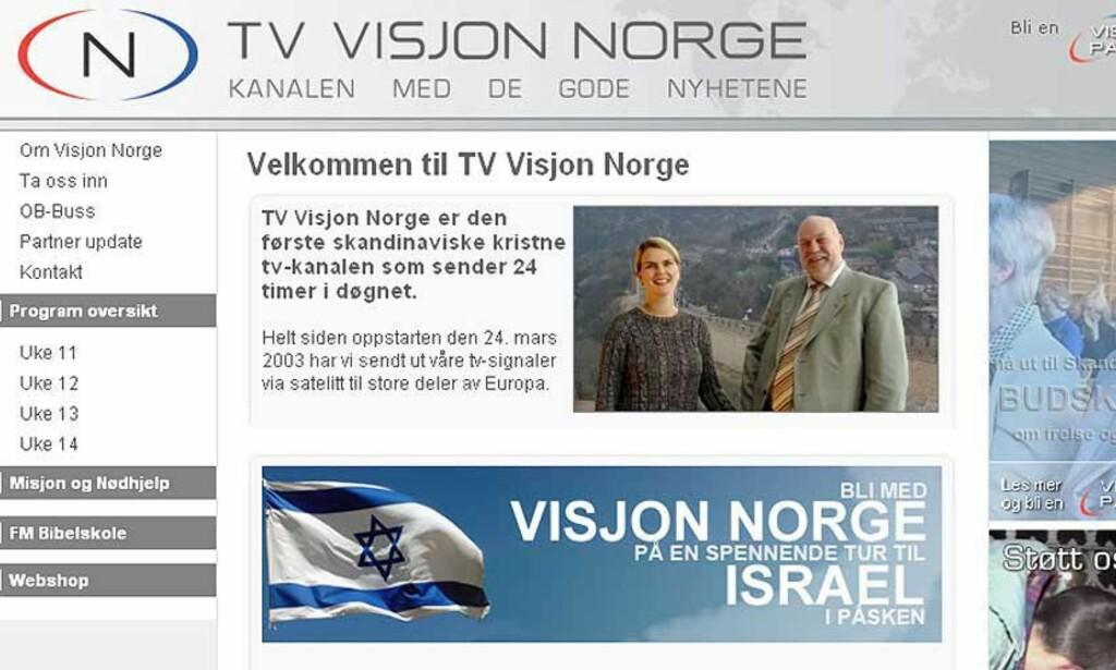 REFSES: Medietilsynet refser TV Visjon Norge for blodig abortfilm som ble sendt på morgenkvisten. FOTO: FAKSIMILE