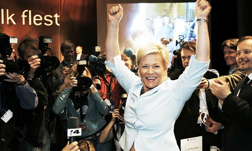 NY FORMANN OG GLAD I FPU - FpU er en fantastisk organisasjon. De vitalisere oss og minner oss på ideologien, sier Jensen til Dagbladet.no. Foto: KURT PEDERSEN