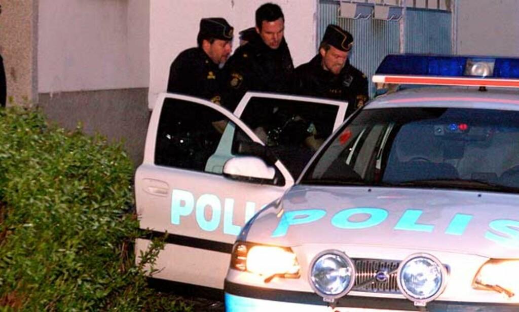 PÅGREPET: Politiet fant 26-åringen sovende, tilgriset med blod og sterkt alkoholpåvirket. Foto: Expressen