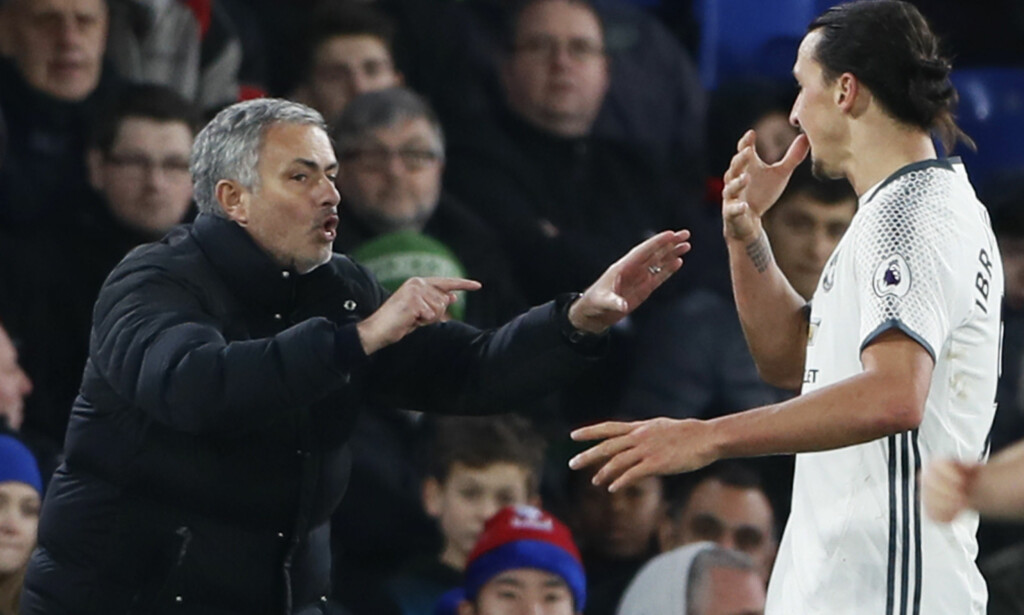 FENOMEN: Manchester United-manager José Mourinho mener Zlatan Ibrahimovic er bedre nå enn da de to jobbet sammen i Inter. Foto: NTB Scanpix/Reuters / Stefan Wermuth
