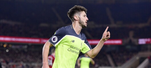 Lallana-show da Liverpool herjet med Middlesbrough