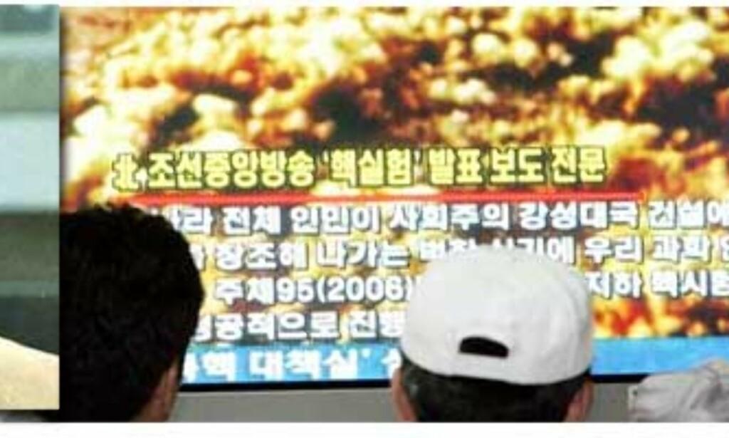 image: Nord-Korea prøvesprengte atomvåpen