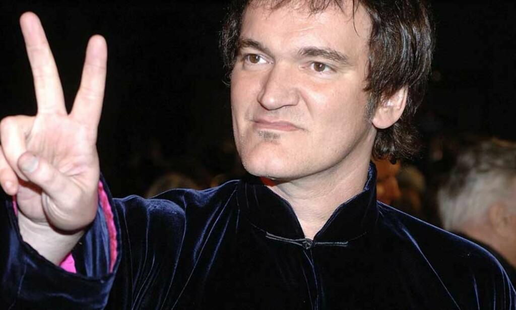 PÅ GLID?: Quentin Tarantino sysler med tanken om å jobbe med gamle rollefigurer igjen. Foto: SCANPIX/REUTERS