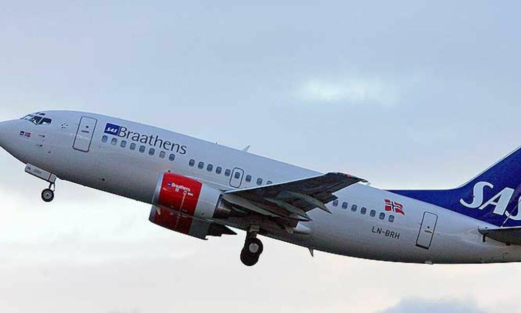 - FEIL SIGNALER: - De milde reglene signaliserer at det er greit å komme bakfull på jobb, sier en norsk SAS-pilot. Foto:SCANPIX