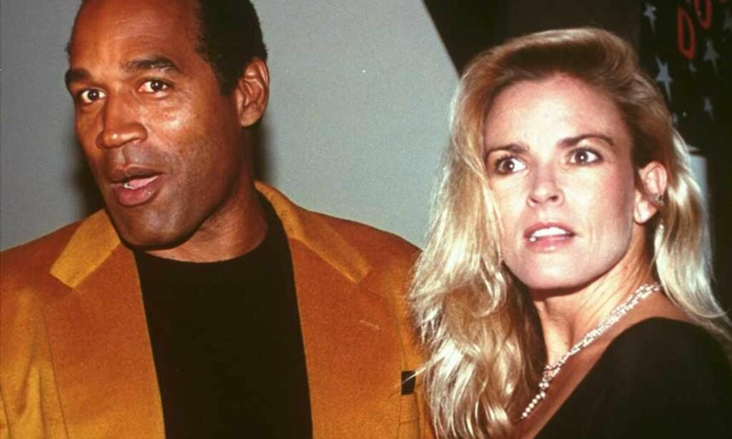 HVA HVIS: O.J. Simpson har skrevet boka «If I Did It» om hvordan han kunne  ha drept ekskona Nicole Brown Simpson og Ron Goldman. Foto: SCANPIX