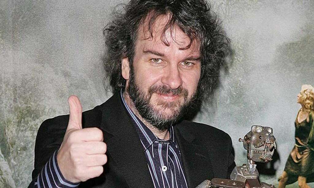 KAN FÅ NY SJANSE: Peter Jacksons mulighet til å få regissere «Hobbiten» er fremdeles til stede, ifølge en tysk produsent. Foto: SCANPIX/REUTERS