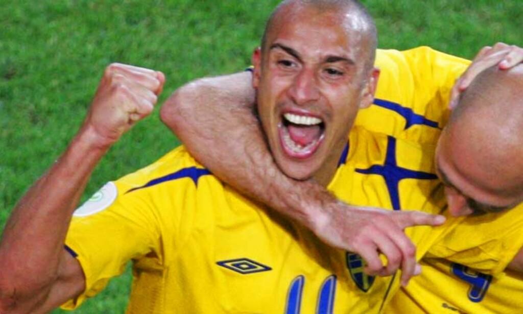LÅNES UT: Henrik Larsson skal forsterke United i snaue tre måneder. 35-åringen gleder seg. Foto: Scanpix/Reuters