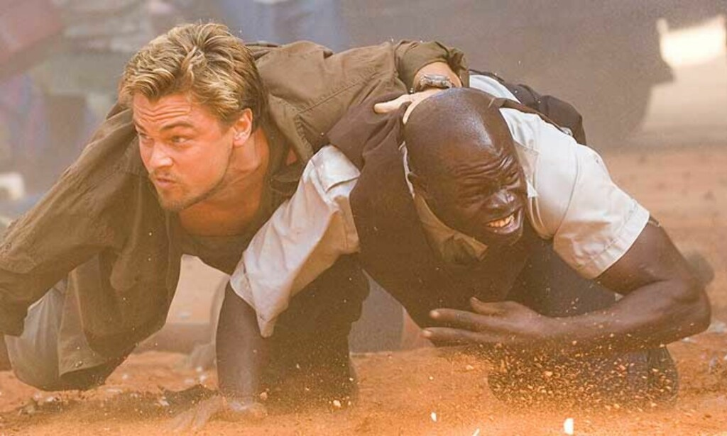 ACTIONDRAMA: «Blood Diamond» defineres som et actiondrama. I tillegg til DiCaprio og Hounsou (bildet) spiller Jennifer Connelly. Foto: WARNER BROS/SANDREW METRONOME