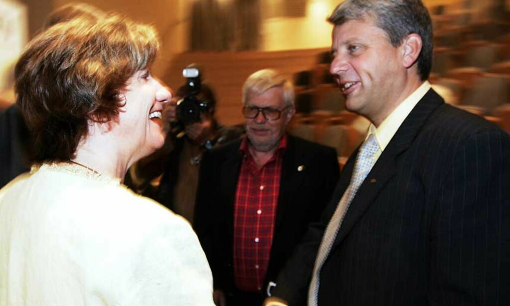 HAR FOR MYE MAKT: LO-leder Gerd-Liv Vallas makt er et problem for regjeringen, mener KrF-leder Dagfinn Høybråten. Foto: Scanpix