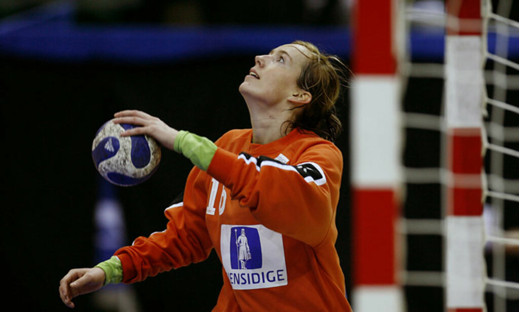 MENTALT STERK: Stjernekeepere har et godt håndballhode. Katrine Lunde er en stjernekeeper. Foto: BJØRN LANGSEM