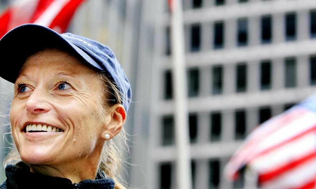 LØPERIKON: Kreftsyke Grete Waitz var i høst tilbake i New York Marathon som ambassadør. -  Det var gøy som alltid. Det bringer gamle minner tilbake. Den samme gåsehuden, forteller hun. Foto: DANIEL SANNUM LAUTEN/DAGBLADET
