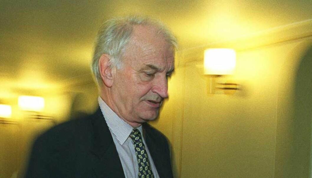 <strong><b>INNRØMMER:</strong></b> tidligere stortingsrepresentant og Frp-politiker Fridtjof Frank Gundersen innrømmer at han var informant for etterretningstjenesten. Foto: SCANPIX