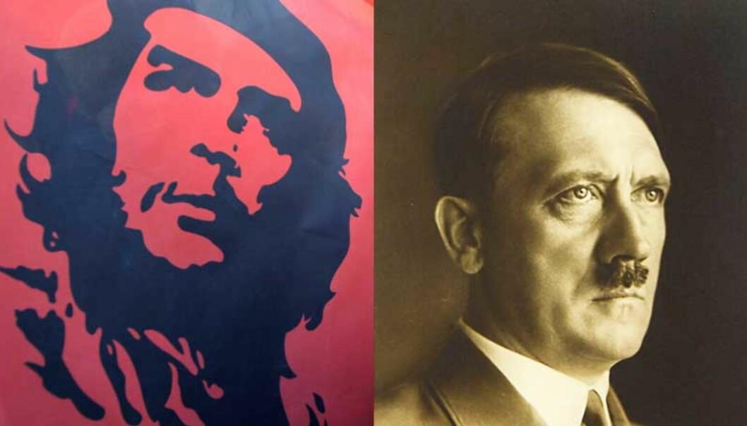 <strong><b>SAMME ULLA:</strong></b> Frps generalsekretær Geir Mo mener Runar Liholt ikke gjør noe som er verre enn å selge Che Guevara-produkter når han selger Hitler-statue på nett. Foto: SCANPIX