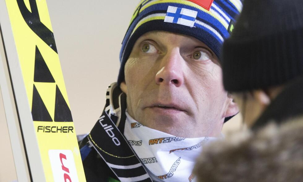 FINSK PROFIL: Janne Ahonen kan ha gjort sitt siste OL. Foto: NTB Scanpix