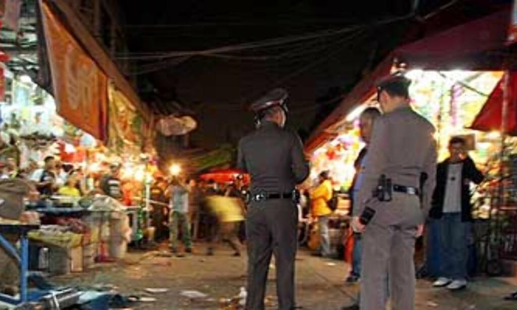 image: Thailand avlyser nyttårsfeiringen