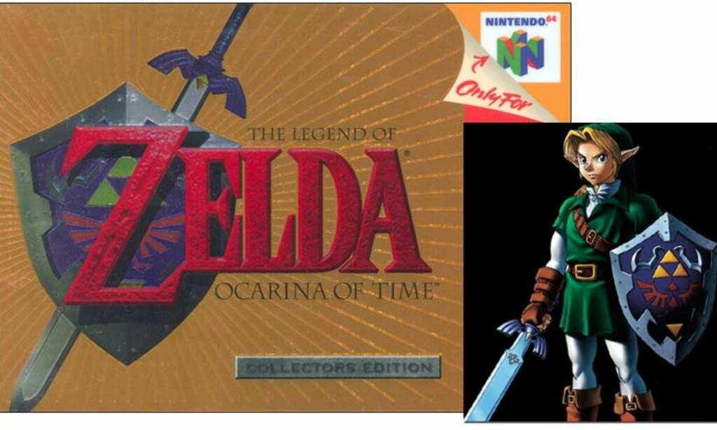 KOMMER PÅ WII: «The Legend of Zelda: Ocarina of Time». Foto: NINTENDO