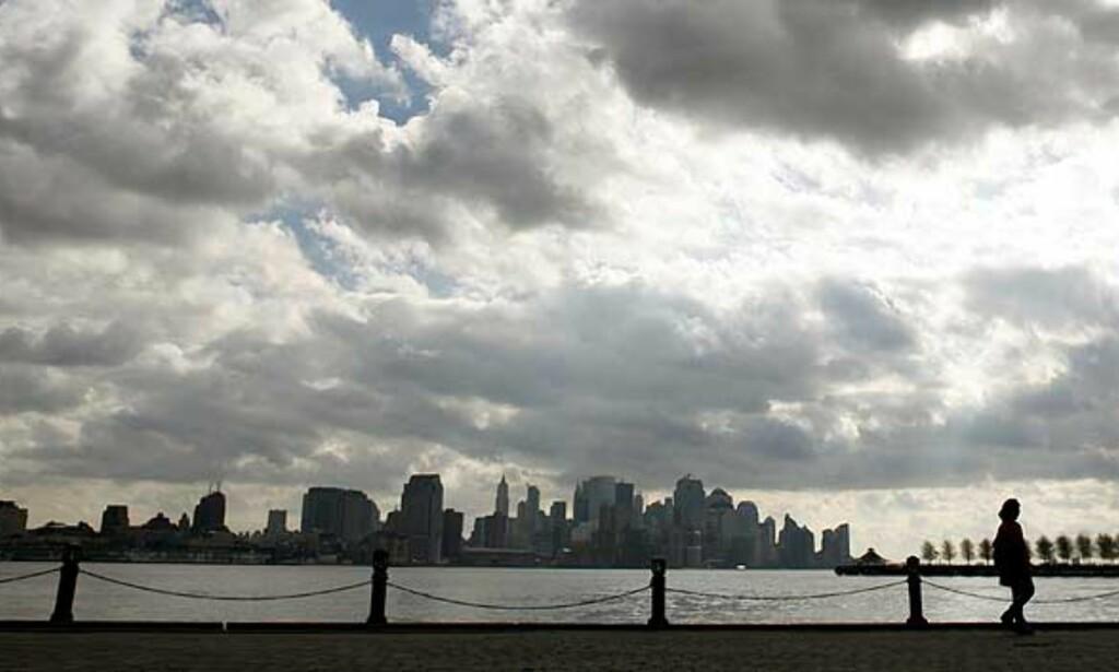 ODØRJAKT: Myndighetene i New York mener gårsdagens vonde lukt kom fra nabostaten New Jersey. Foto: Scanpix