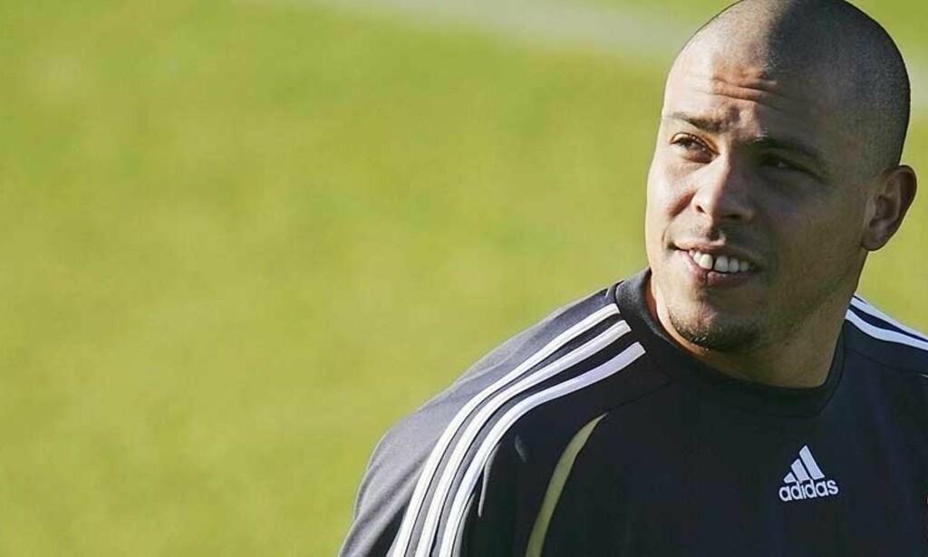 MESTSCORENDE I VM: Ronaldo er ikke lenger ønsket i Madrid og Milan er i forhandlinger om kjøp av 30-åringen. Foto: Scanpix/Reuters