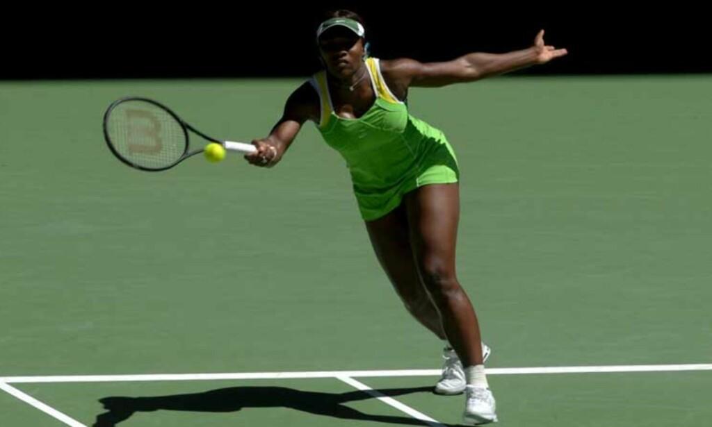 FINALEKLAR: Serena Williams. Foto: EPA/ SCANPIX
