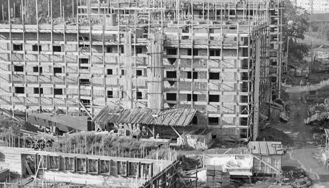 <strong><b>PROSJEKT:</strong></B> Oslo og Rogaland var de to fylkene med flest påbegynte boligprosjekter. Dette er fra Iladalen. FOTO: Scanpix