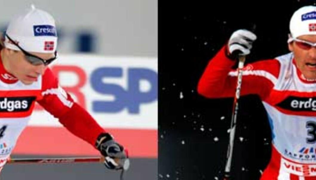 To norske gull på sprinten