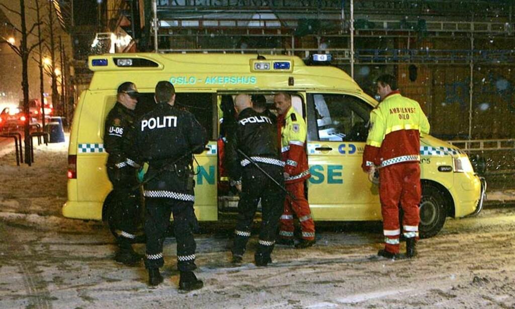 LAR SEG PÅVIRKE: Riksadvokaten mener politi, påtalemyndighet og dommere kan la seg påvirke av uriktige myter i voldtektssaker. Bildet er tatt etter at to kvinner ble voldtatt i Oslo natt til 25. februar. Ilustrasjonsfoto: SCANPIX