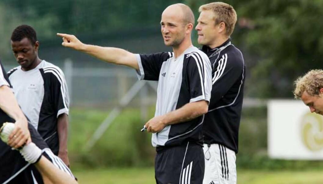 <b>LEDER HAN RBK TIL NYTT GULL?</b> Det tror de andre Tippeliga-trenerne. Også Knut Tørum har tro på nytt Rosenborg-gull. Foto: TOM E. ØSTHUUS