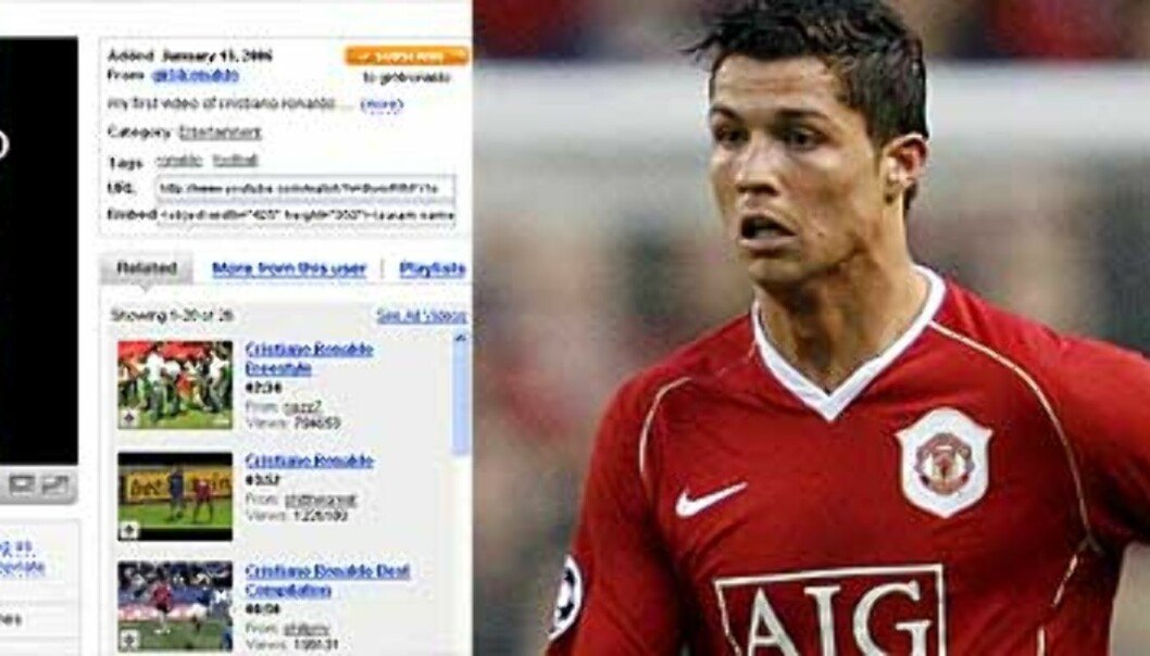 Norsk jente (18) laget YouTube-vinner om Ronaldo
