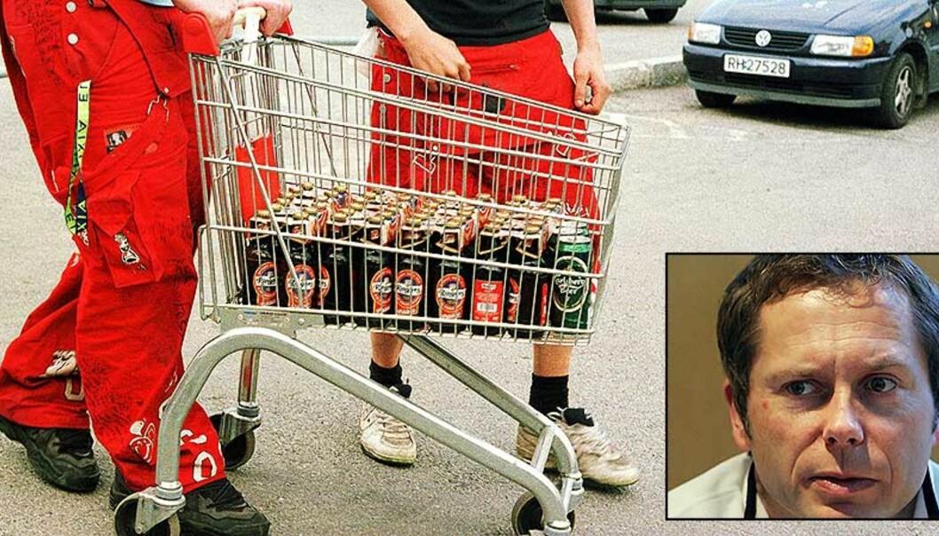 <strong><b>EKSKLUDERENDE FYLL:</strong></b> Schultz\' forskning viser at russetidens alkoholforbruk fører til at innvandrerungdom faller utenfor. Foto: Berit Keilen/ Heiko Junge/ SCANPIX