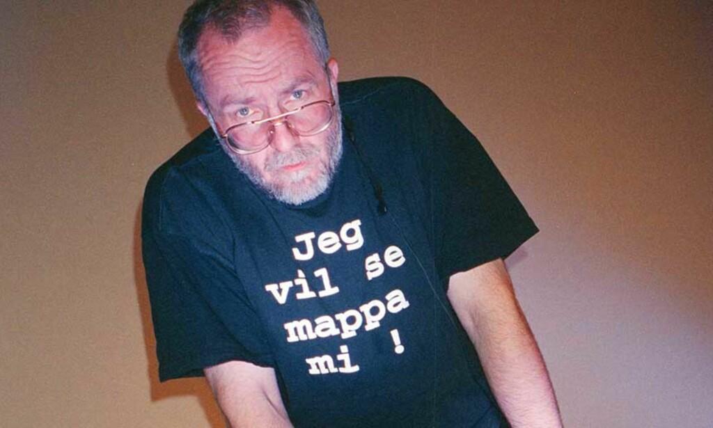 OMDISKUTERT: Tron Øgrim var en av de som fikk æren for at AKP-ml fikk mye innflytelse på kulturlivet på 70-tallet. Bildet er tatt i forbindelse med Bylarm i Stavanger. Foto: ANDERS GRØNNEBERG