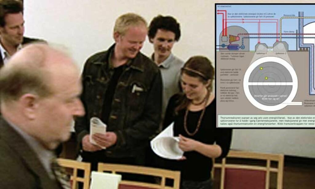 M8-MØTET:De åtte store miljøorganisasjonene møttes og ble enige. Foto: Øistein Norum Monsen/Forskning.no
