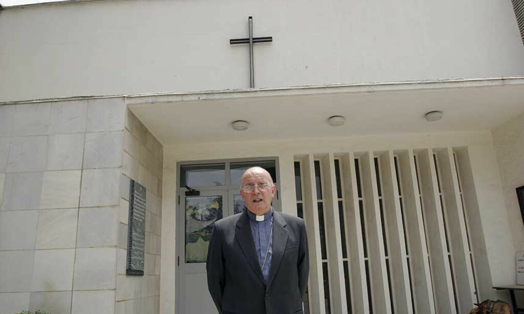 I LIVSFARE: Fader Giuseppe Moretti råder konvertitter til å forlate Afghanistan. Foto: Anders Sømme Hammer
