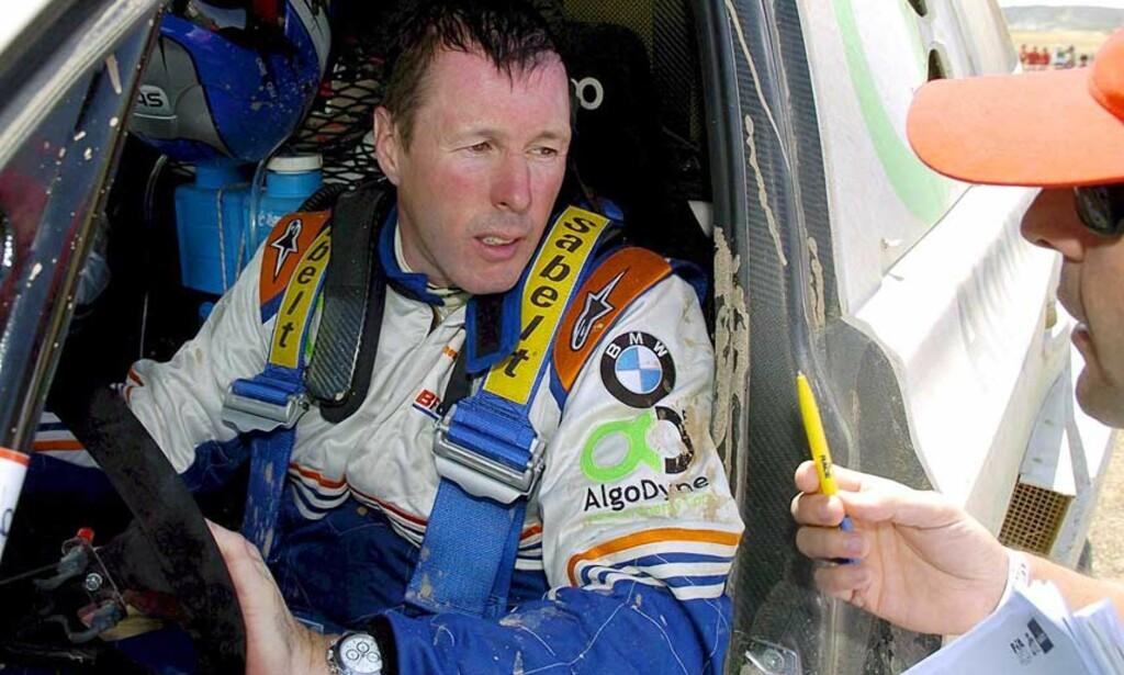 VERDENSSTJERNE: Colin McRae er trolig verdens mest kjente rallypersonlighet. Foto: JAVIER CEBOLLADA/EPA/SCANPIX
