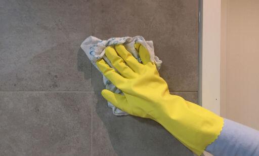 image: Vaskemiddelet har ingenting på fliser å gjøre