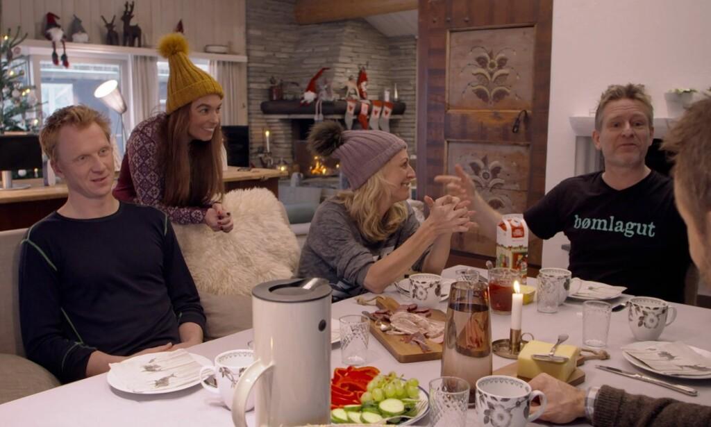 GOD STEMNING?: Du vet det blir kleint når Thomas Giertsen skal arrangere venne-jul.
