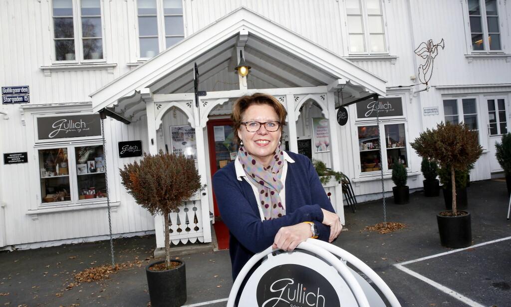 NYTT LIV: Tove Hauge skiftet beite da hun flyttet fra Oslo til Son. - Etter mange år i arbeidslivet, har man jo en god planke å stå på, sier 58-åringen.  Foto: JACQUES HVISTENDAHL