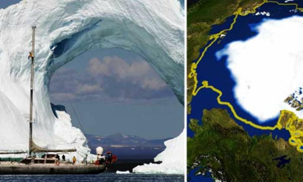 image: Skal løse gåten om smeltingen i Arktis