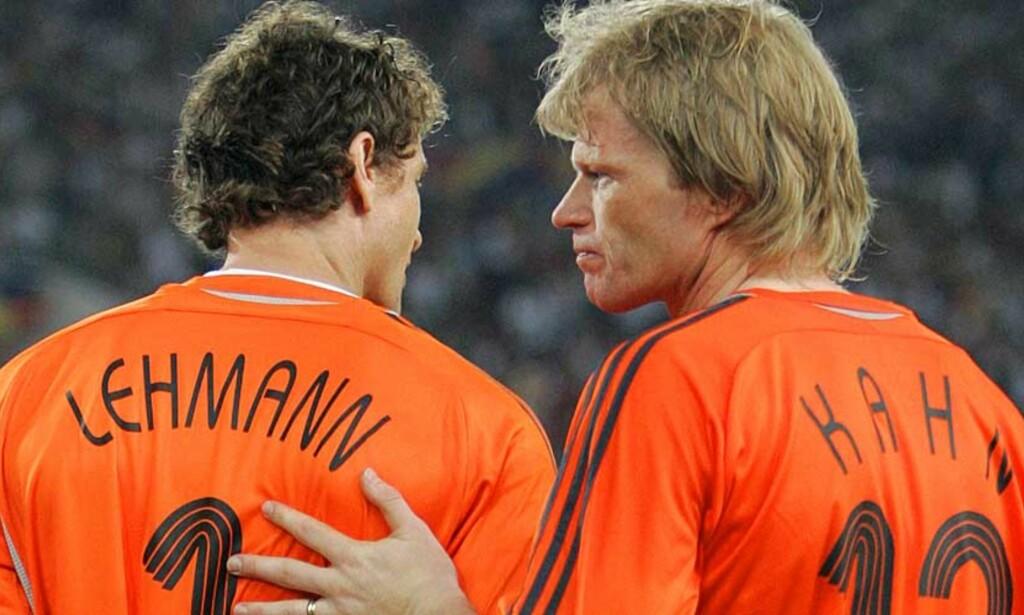 HAR MISTET PLASSEN: Almunia har overtatt plassen mellom stengene i Arsenal. Oliver Kahn mener Lehmann må finne seg ny klubb hvis han vil være med på EM neste sommer. Foto: REUTERS