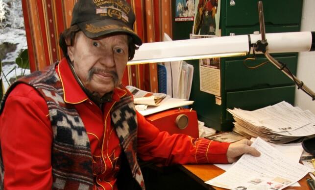 - GLEDESSPREDER: Den folkekjære artisten Arnie Norse er blant annet kjent fra flere TV-opptredener og egenproduserte kassettutgivelser. 14. desember gikk han bort.