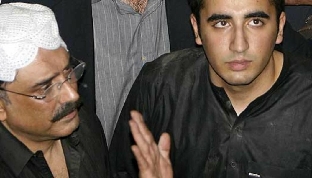 Bhuttos sønn (19) vil lede partiet
