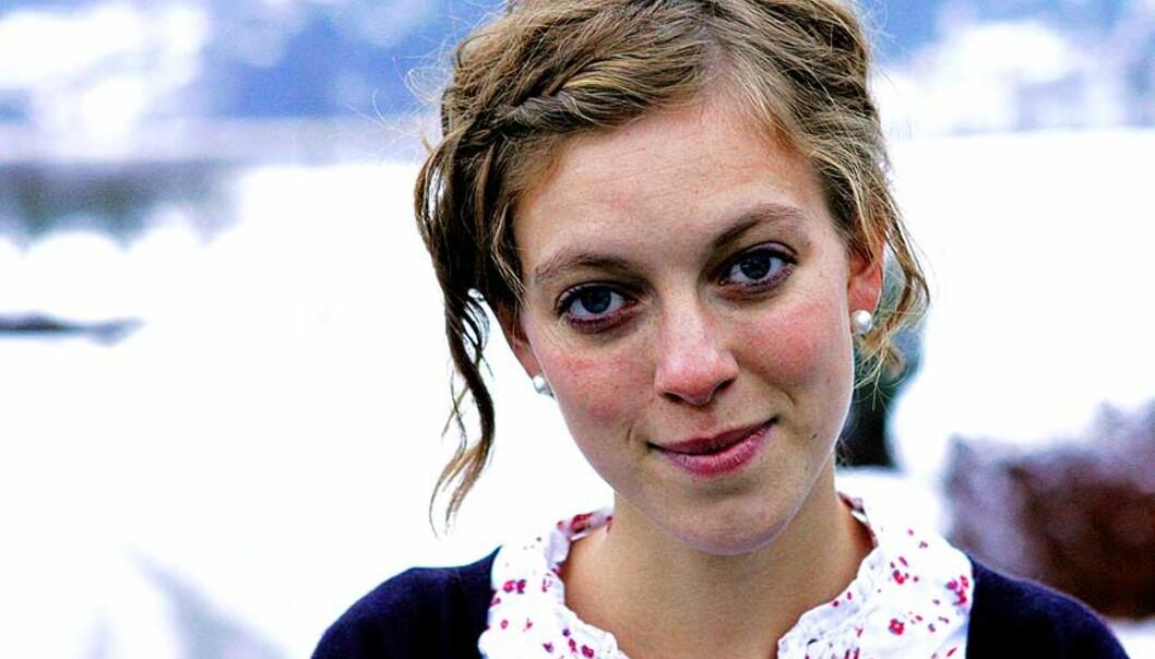 <b>FORNØYD:</b> Natur og Ungdom- leder Ingeborg Gjærum jubler over Trillemarka-avgjørelsen. Foto: Scanpix