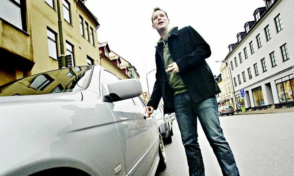 RISIKERER MYE: Norsk-finske Peter Sunde kan få svi som følge av sitt engasjement for The Pirate Bay. Selv har han tidligere gitt uttrykk for å ta oppstyret med stor ro. Foto: LARS MYHREN HOLAND