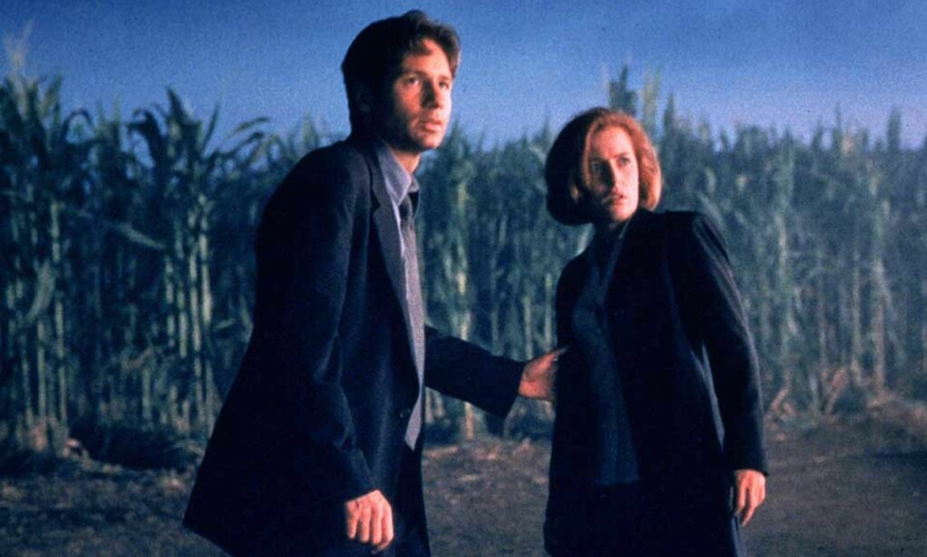 DA: Fox Mulder og Dana Scully i den første X-Files-filmen. Foto: REUTERS